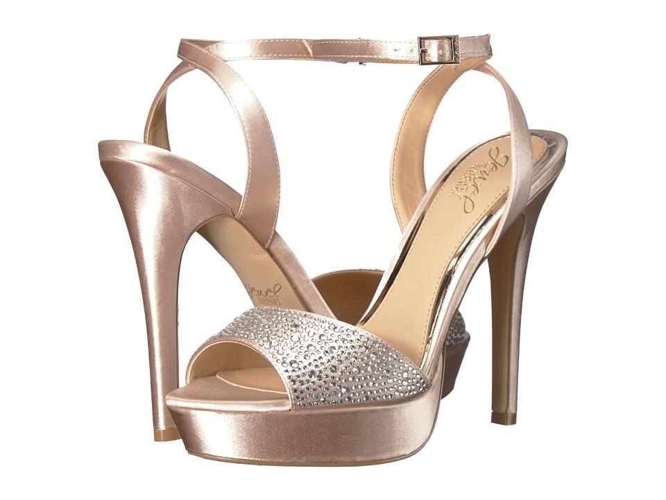 Jewel Badgley Mischka Milena (Champagne) Women's Shoes