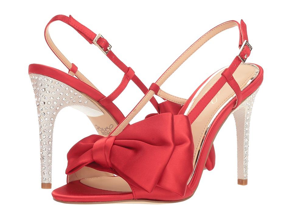 Jewel Badgley Mischka Johanna (Scarlet Red) Women's Shoes