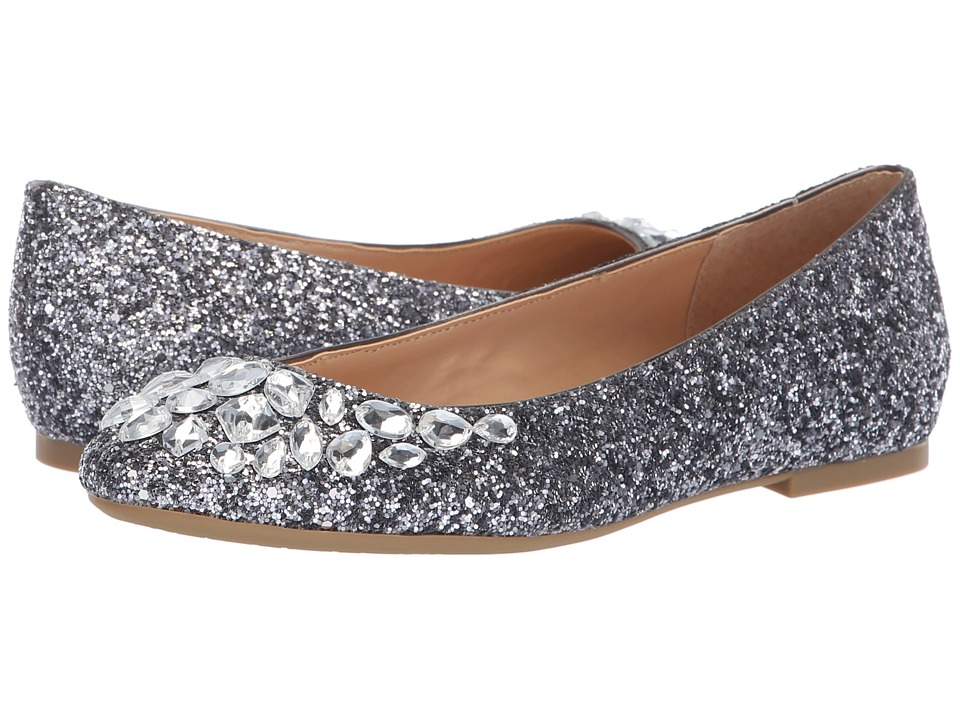 Jewel Badgley Mischka Mathilda (Smoke) Women's Shoes