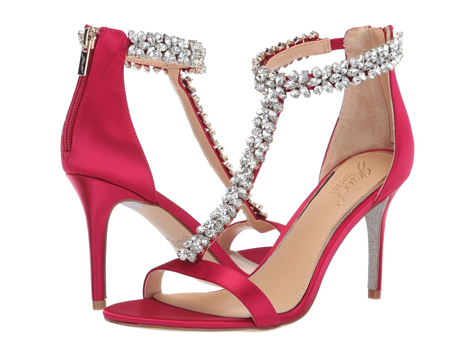 Jewel Badgley Mischka Janna (Pink) Women's Shoes