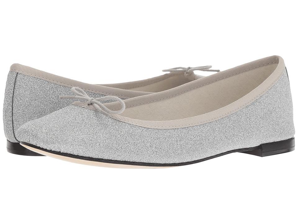 Repetto Cendrillon - Textile (Argent) Flats