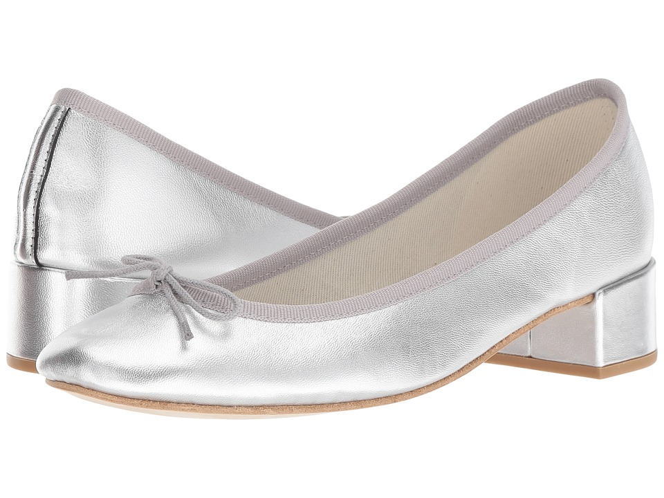 Repetto Camille (Argent) 1-2 inch heel Shoes
