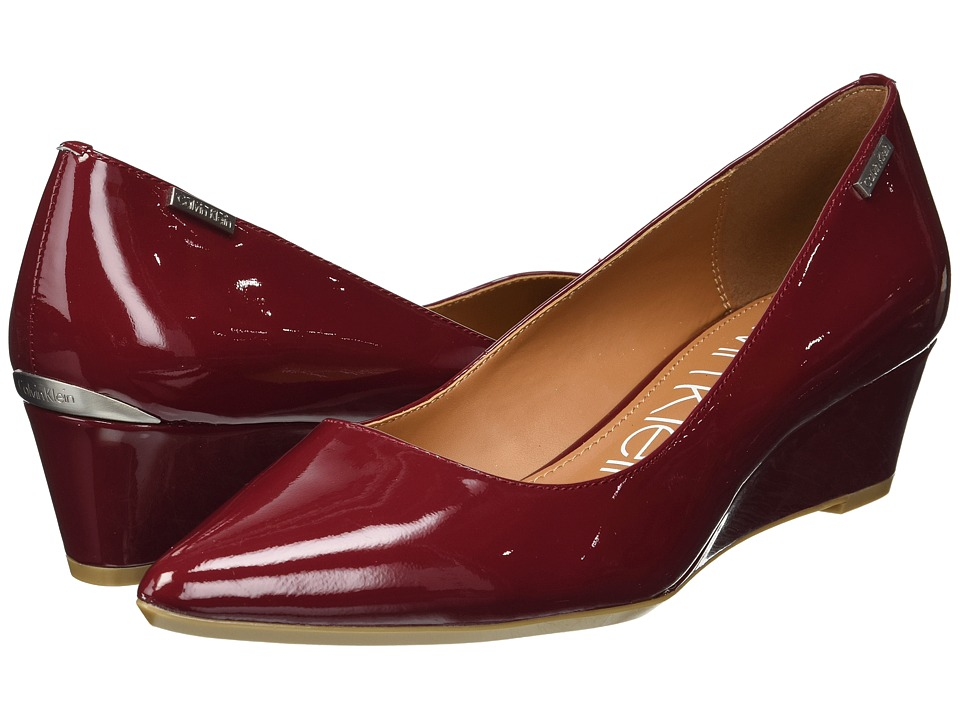 Calvin Klein Germina (Red Rock Patent) Women's Shoes