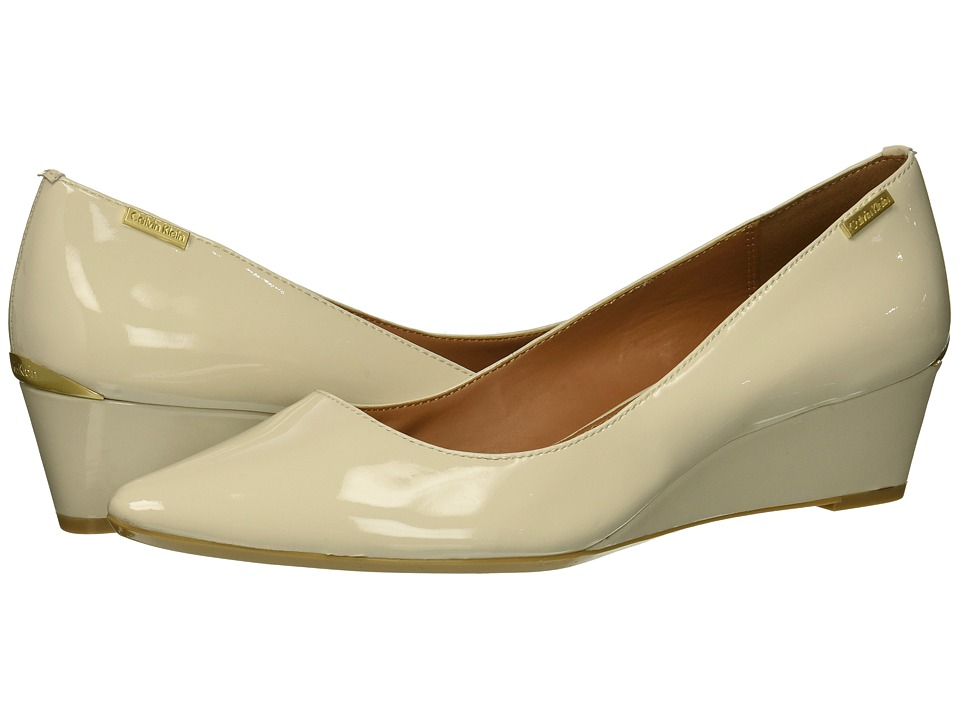 Calvin Klein Germina (Soft White Patent) Women's Shoes