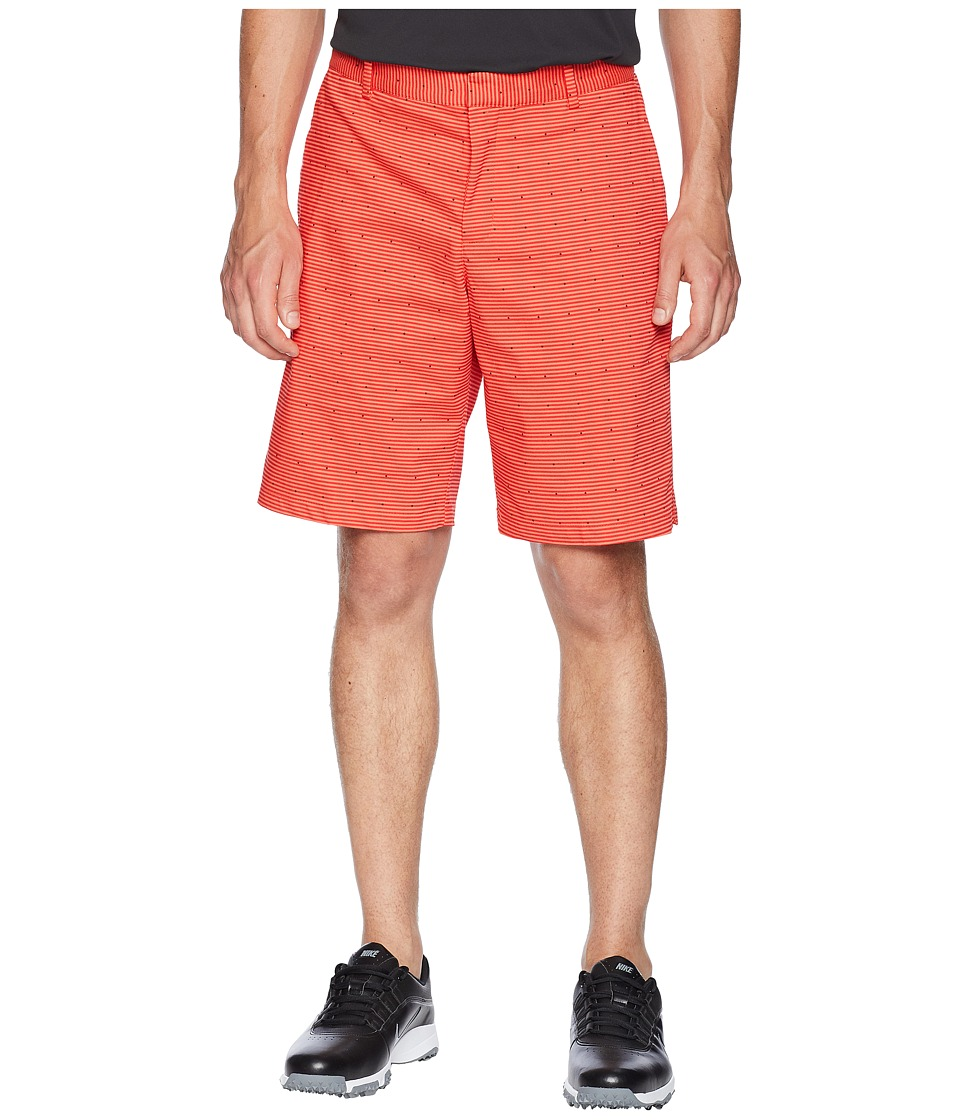 Nike Golf - Flex Shorts Slim PRT (Rush Coral/Flat Silver) Mens Shorts