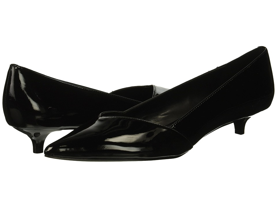 Calvin Klein Mai (Black Patent) Women's Shoes