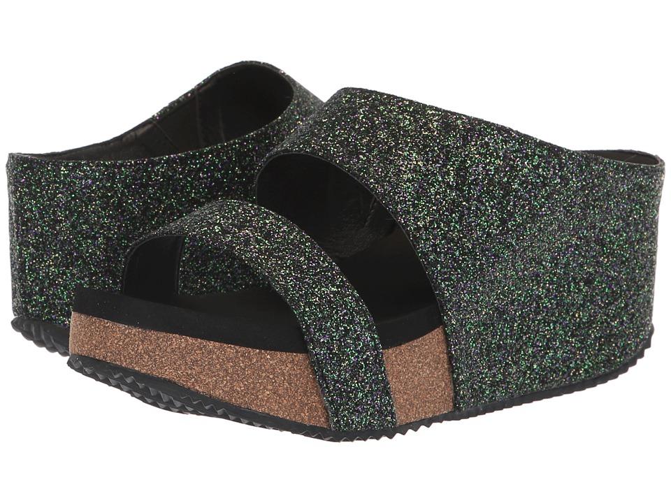 VOLATILE Glowing (Black) Sandals
