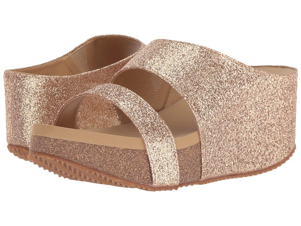 VOLATILE Glowing (Gold) Sandals