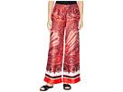 LAUREN Ralph Lauren Silky Twill Printed Wide Leg Pants