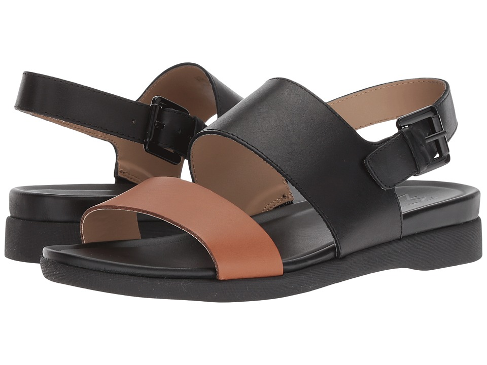 Naturalizer Emory (Brown/Black Multi Leather) Sandals