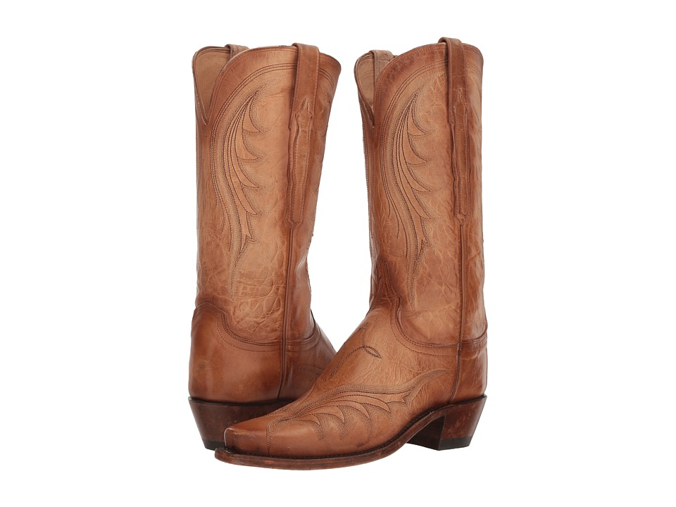 Lucchese Lily (Antique Pearl Bone) Women's Cowboy Boots