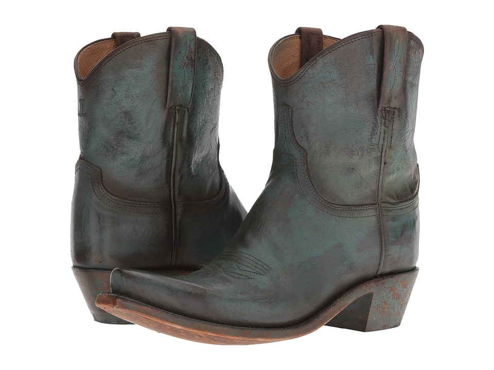 Lucchese Gaby (Antique Turquoise) Cowboy Boots