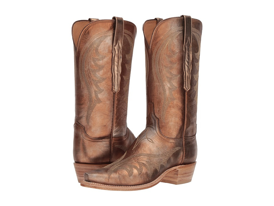 Lucchese Lily (Antique Bronze) Women's Cowboy Boots