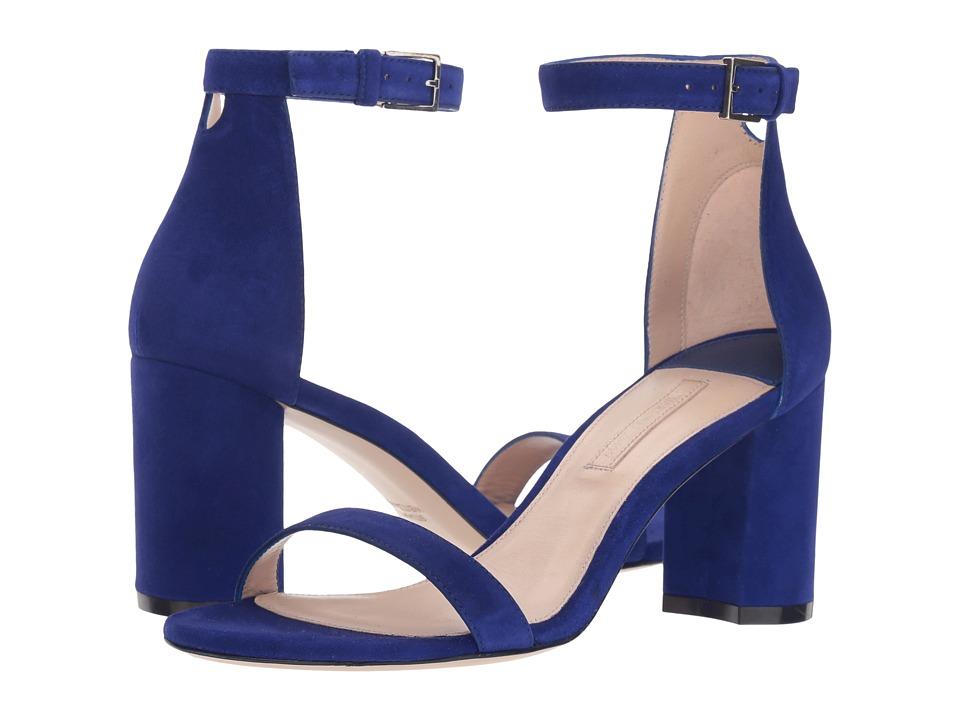 Stuart Weitzman 75lessnudist (Blue/Violet Suede) Women's Shoes