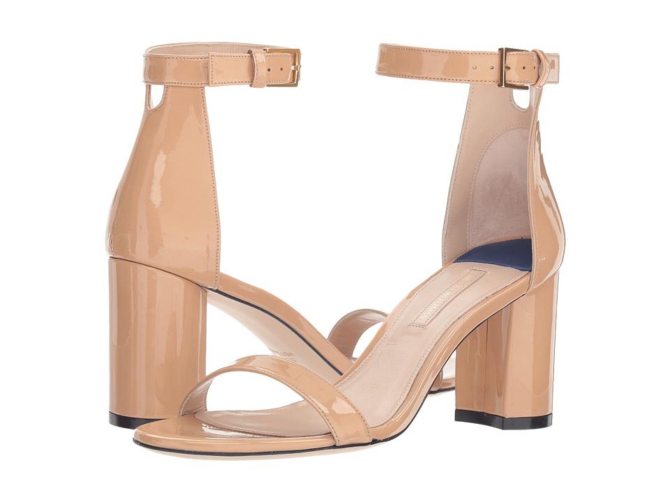 Stuart Weitzman 75lessnudist (Adobe Cristal) Women's Shoes