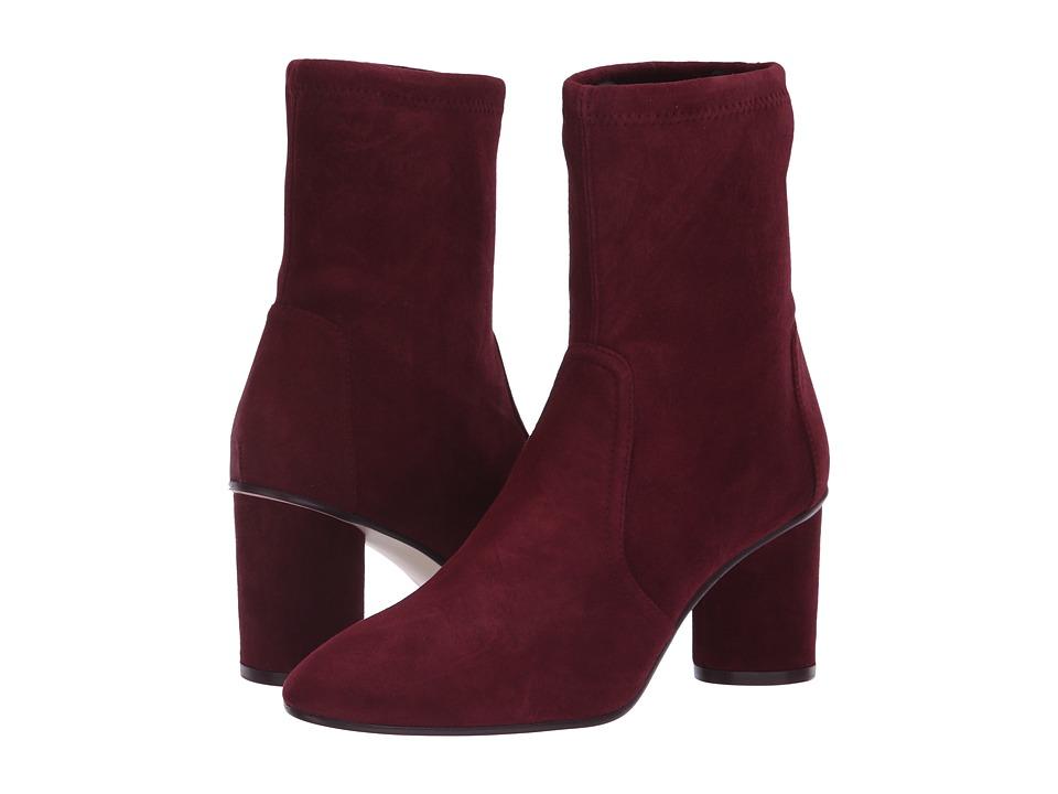 Stuart Weitzman Margot 75 (Cabernet Suede) Women's Shoes