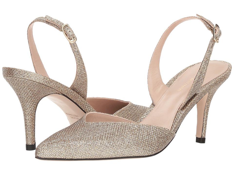 Stuart Weitzman Sleek (Platinum Noir) Women's Shoes