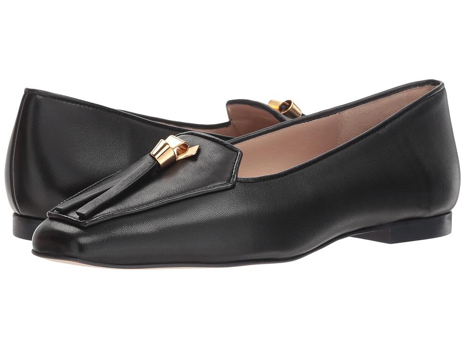 Stuart Weitzman Slipknot (Nero Reims) Women's Shoes