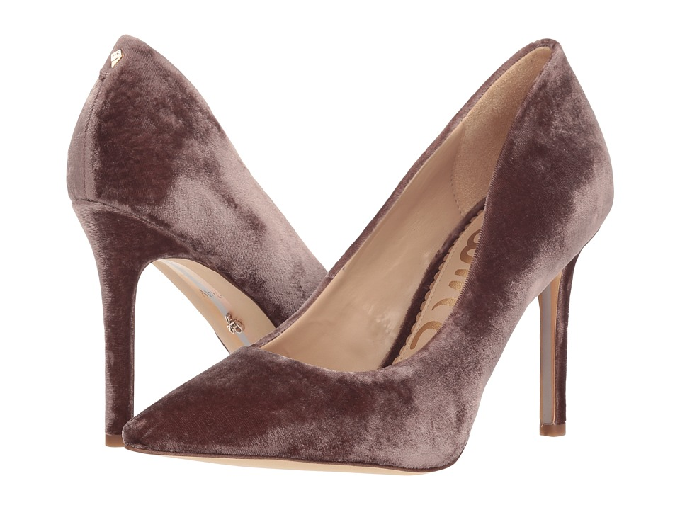 Sam Edelman Hazel (Mink Shadow Silky Velvet) Women's Shoes