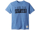 The Original Retro Brand Kids I Am The Future Short Sleeve Tri-Blend Tee (Big Kids)