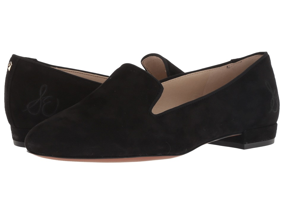 Sam Edelman Jordy (Black Kid Suede Leather) Women's Shoes