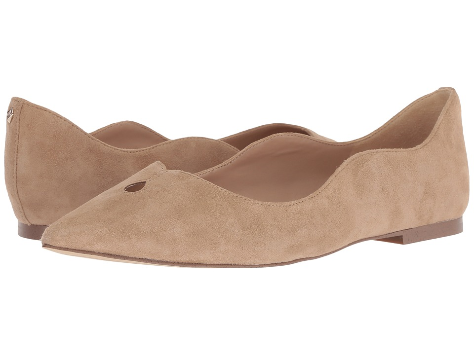 Sam Edelman Rosalie (Oatmeal Kid Suede Leather) Women's Shoes