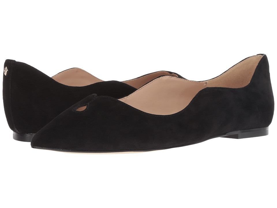 Sam Edelman Rosalie (Black Kid Suede Leather) Women's Shoes