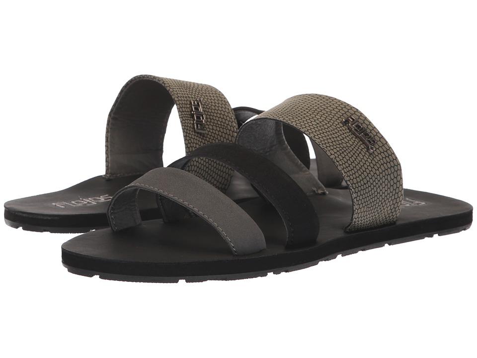 Flojos Dolce (Black/Pewter) Women's Shoes