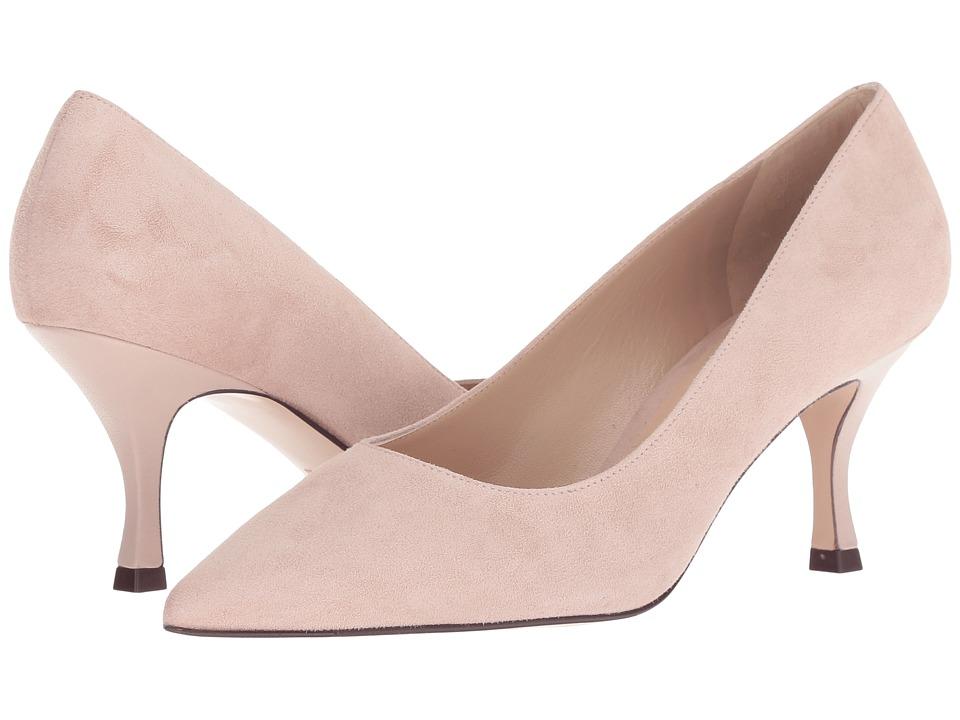 Stuart Weitzman Tippi 70 (Dolce Combo Suede) Women's Shoes