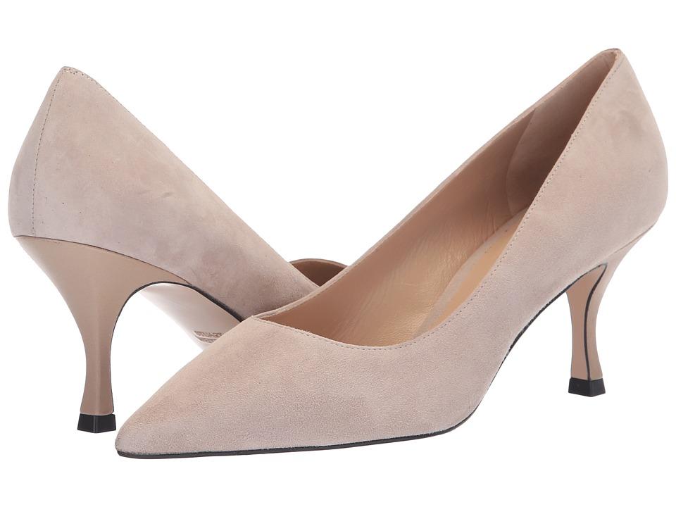 Stuart Weitzman Tippi 70 (Pebble Combo Suede) Women's Shoes