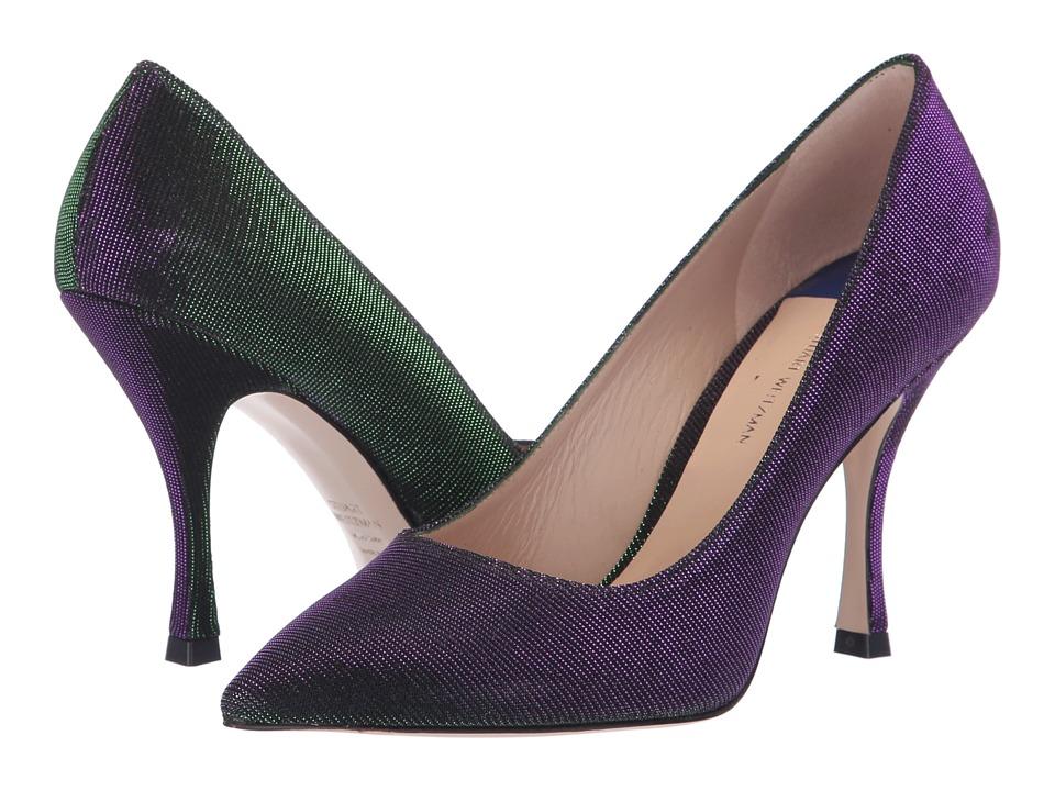 Stuart Weitzman Tippi 95 (Majestic Purple Nighttime) Women's Shoes