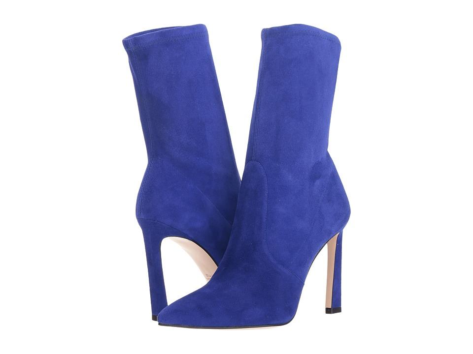 Stuart Weitzman Rapture 100 (Blue Violet Suede) Women's Shoes