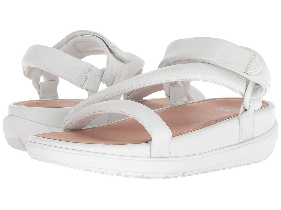 FitFlop Loosh Luxetm Z-Strap Leather Sandals (Urban White Leather) Sandals