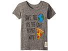 The Original Retro Brand Kids Save The Earth Short Sleeve Vintage Tri-Blend Tee (Toddler)