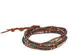 Chan Luu Chan Luu Sapphire Mix Five-Wrap Bracelet