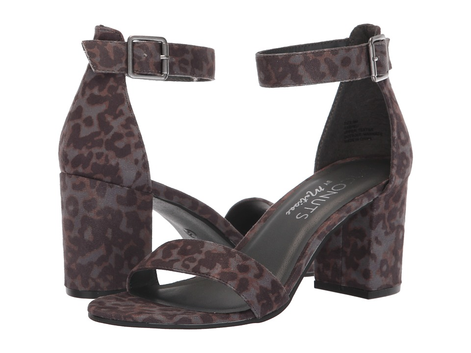 Matisse Coconuts by Matisse-Sashed Heel (Grey Leopard) Women's Shoes