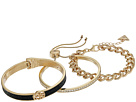 GUESS Three-Piece Bracelet Set - One Hinge, One Slider and One Link