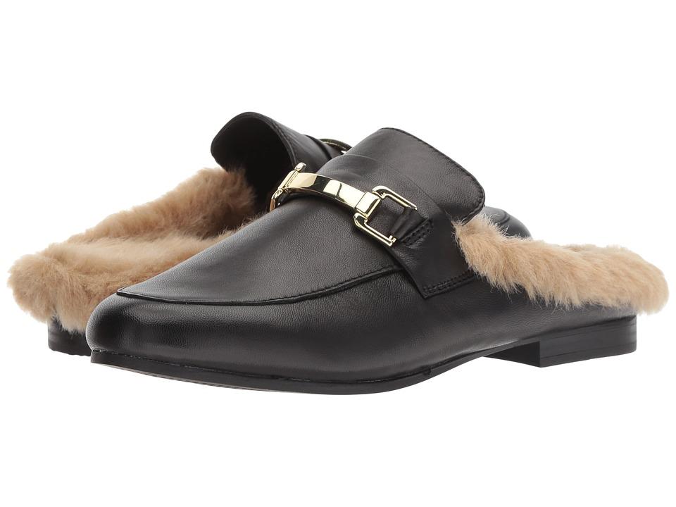 Steve Madden Khloe Mule (Black Leather) Women's Shoes