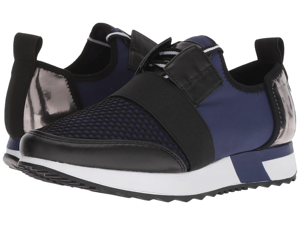Steve Madden Antics Sneaker (Navy Multi) Women's Shoes