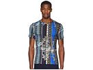 Versace Jeans Embelisshed Vertical Stripe T-Shirt