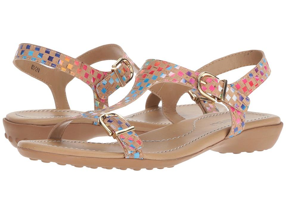 Vaneli - Taletha (Natural Multi Spiral Cork) Womens Dress Sandals