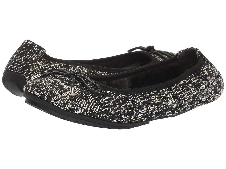 Me Too Halle (Black/White Boucle) Flats