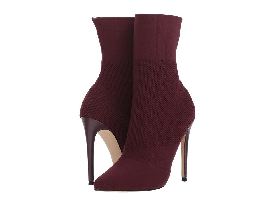 Steve Madden Century Dress Boot (Burgundy) Women's Dress Pull-on Boots
