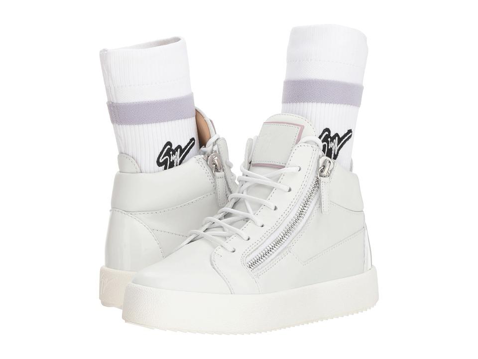 Giuseppe Zanotti RW80037 (Birel Bianco) Women's Shoes