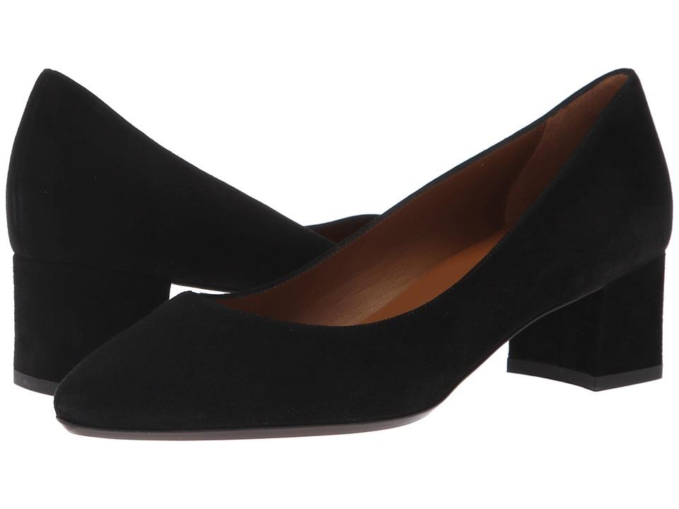 Aquatalia Pasha (Black Dress Suede) Women's Shoes