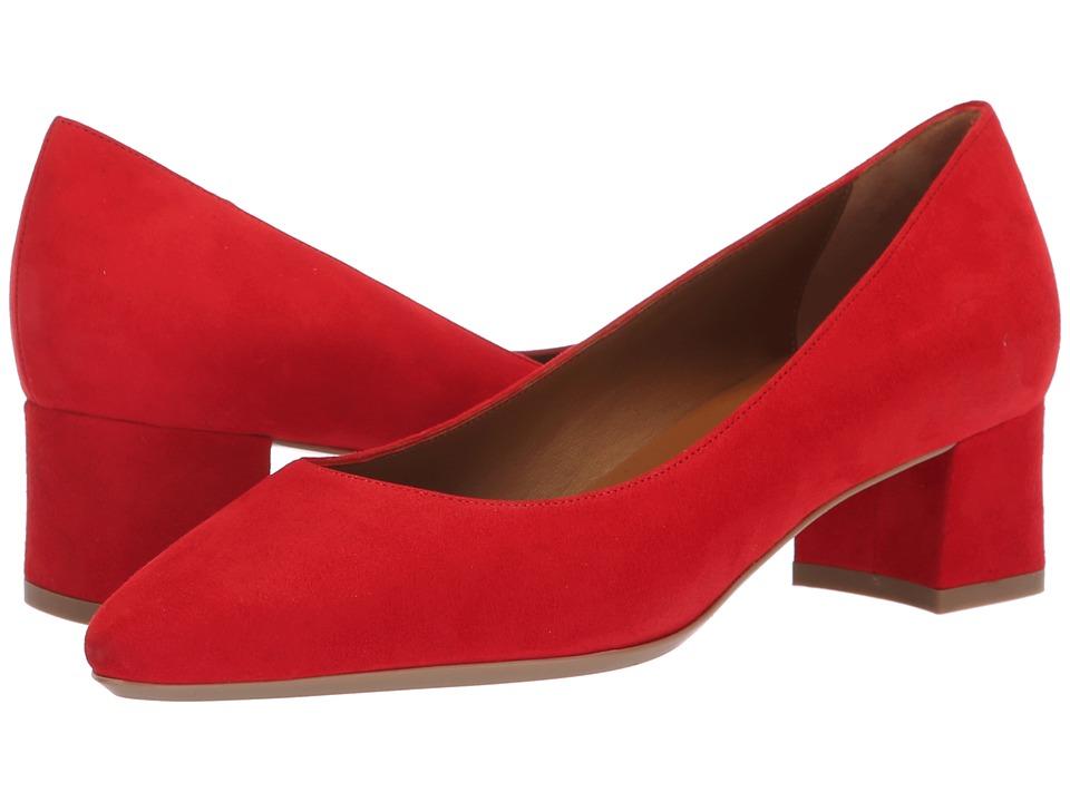 Aquatalia Pasha (Red Dress Suede) Women's Shoes