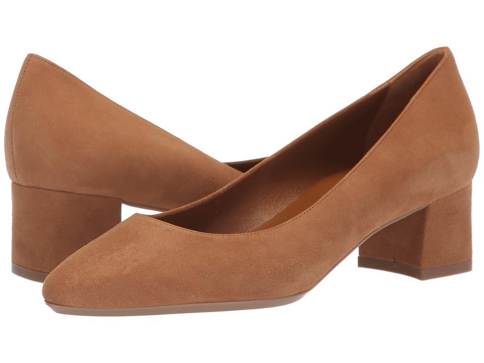Aquatalia Pasha (Sand Dress Suede) Women's Shoes