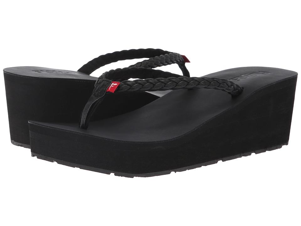 Flojos Hayley (Black) Women's Shoes