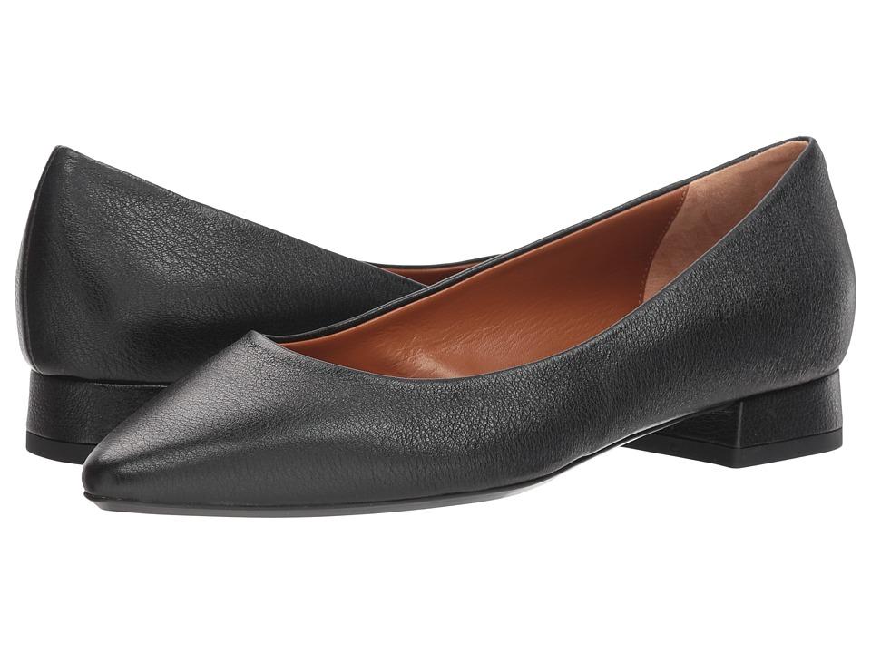 Aquatalia Penina (Black Penina Metallic) Women's Shoes