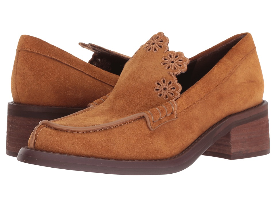 See by Chloe SB31150A (Tan Crosta) Slip-On Shoes